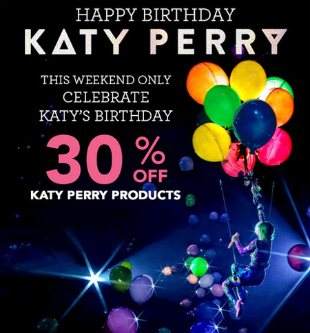 30% Off Katy Perry Products at Claire's