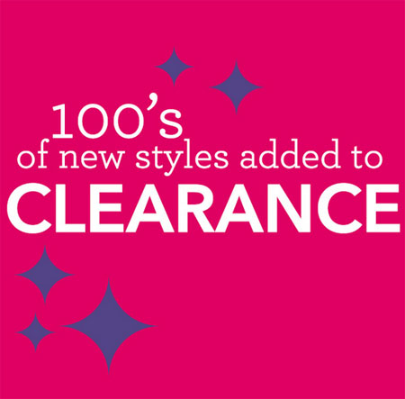 Shop 100's of New Sale Items Added at Claire's