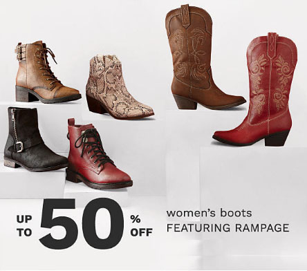 Foothills Mall Up To 50 Off Womens Boots Belk