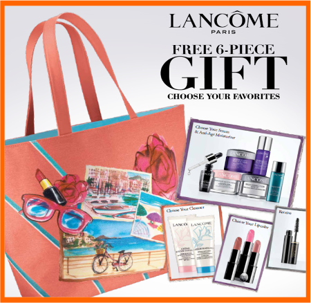 Lancome Free Gift with Purchase 2014