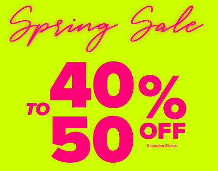 f694f007632 Marshfield Plaza     40-50% Off Spring Sale     Rainbow Shops