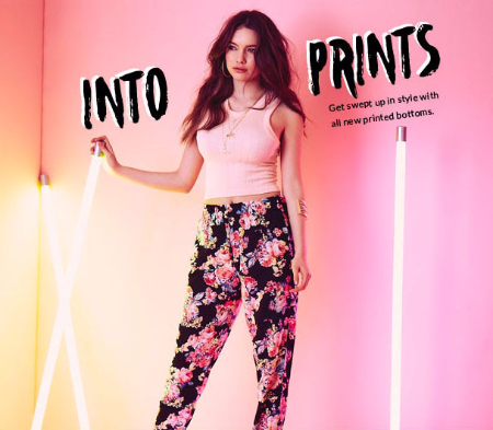 All New Printed Bottoms
