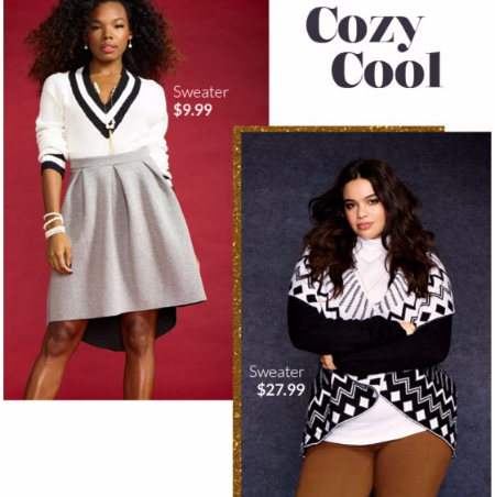 It's Time For Cozy Cool Sweaters