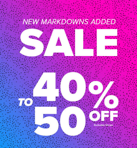 160fdfc8e7f Gulf View Square     40% to 50% Off Sale     Rainbow Shops