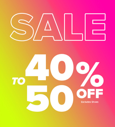 f81d166179d River Oaks Center     40-50% Off Sale     Rainbow Shops