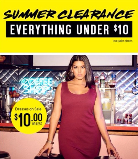 Connecticut Post Mall ::: Summer Clearance Everything Under $10 ...