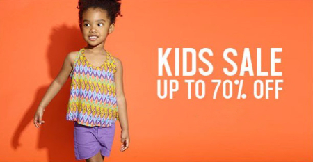 Kids Sale up to 70% Off
