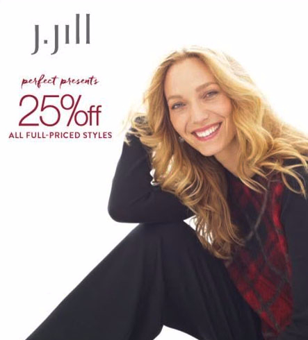 25% Off All Full-Priced Styles