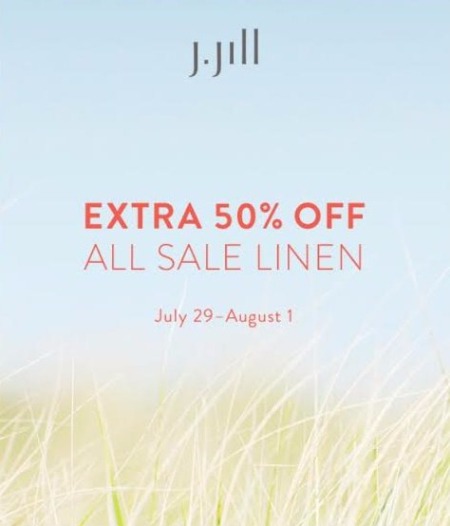 Extra 50% Off All Sale Linen