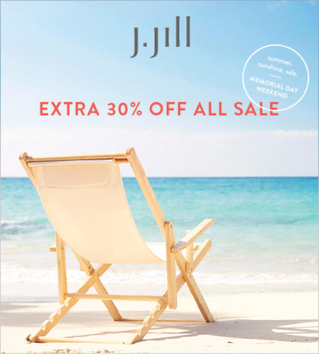 Take an Extra 30% Off All Sale Styles at J.Jill