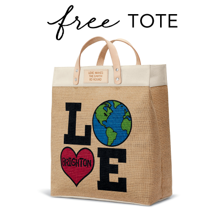 Brighton Collectibles | FREE GIFT - LOVE THE EARTH TOTE