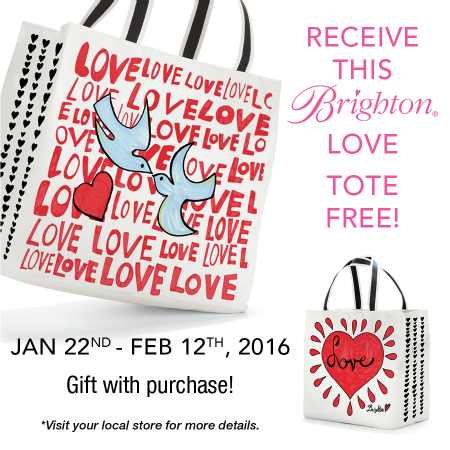 Free Love Tote With Purchase