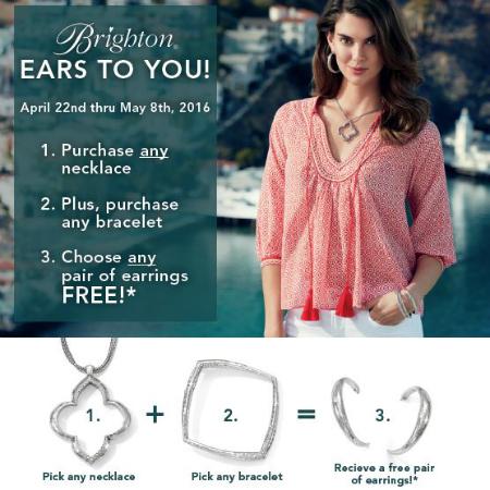 Free Earrings? Yes, Please!