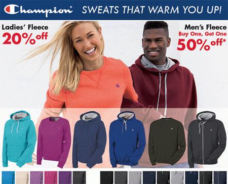Champion Fleece on Sale
