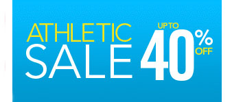 Up to 40% Off Athletic Sale