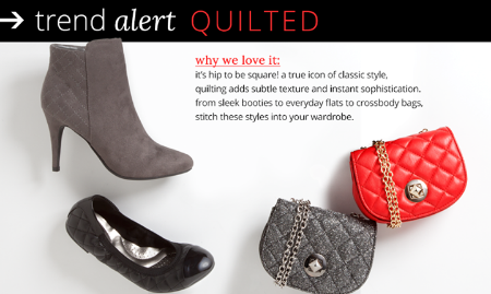Be Trendy With These Quilted Styles