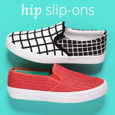 Get These Sporty Slip-Ons at Payless ShoeSource