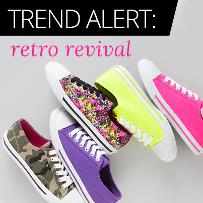 Put On These Retro-Inspired Sneakers at Payless ShoeSource