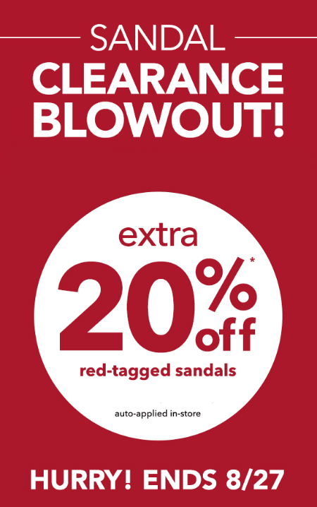 Sandal Clearance Blowout at Payless ShoeSource