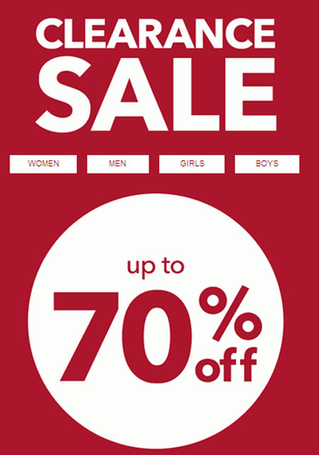 Clearance Sale up to 70% Off at Payless ShoeSource