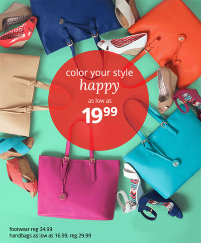 Color your Style - Mix & Match as low as $19.99! at Payless ShoeSource