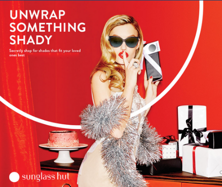 Unwrap Something Shady at Sunglass Hut