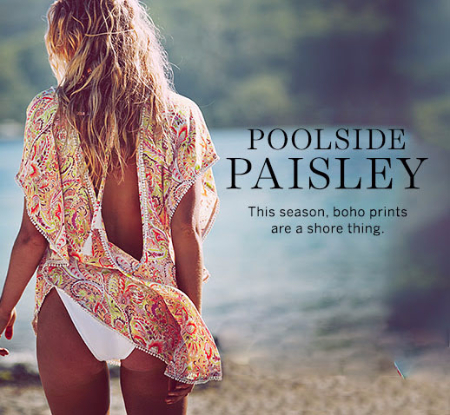 Poolside Paisley