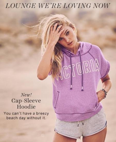 Shop Our New Cap-Sleeve Hoodie