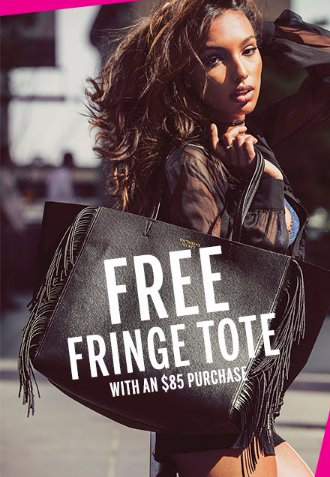 Free Fringe Tote With an $85 Purchase