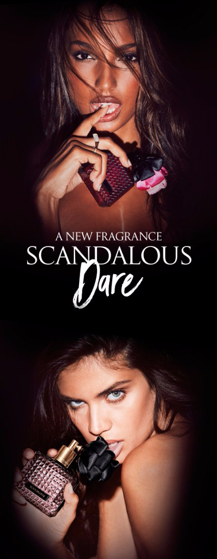New Scandalous Dare Fragrance Has Arrived