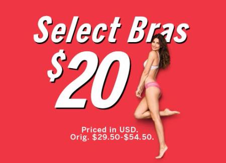 $20 Select Bras