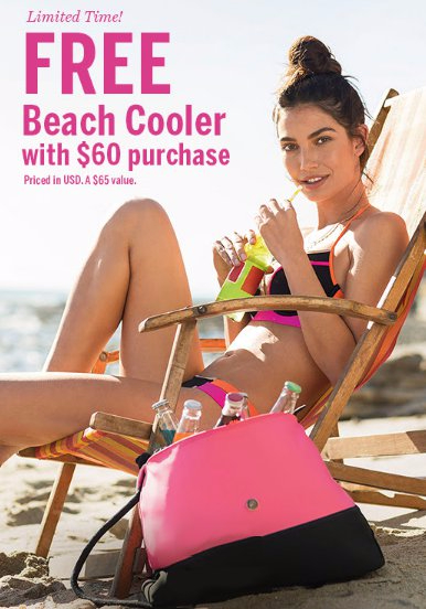 Free Beach Cooler With $60 Purchase