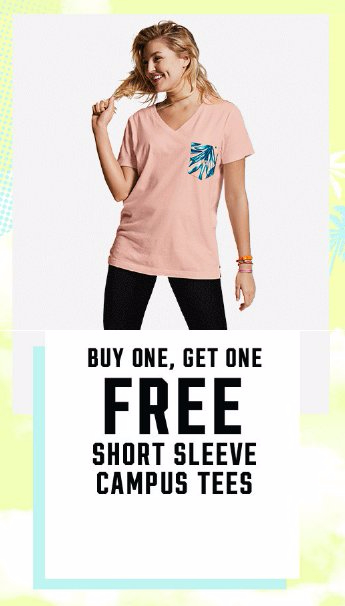 BOGO Free Short Sleeve Campus Tees