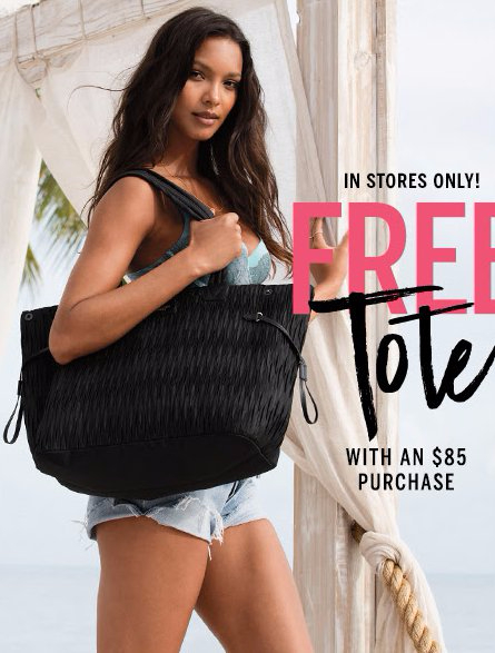 Free Tote With an $85 Purchase