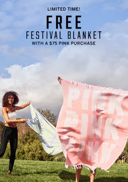 b6ef1effd5339e The Shoppes at Chino Hills :: Free Festival Blanket With a $75 PINK ...