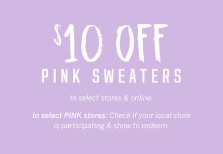 Marketstreet Lynnfield 10 Off Pink Sweaters Victorias Secret