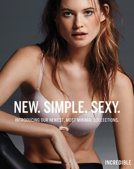 New Look of Sexy at Victoria's Secret