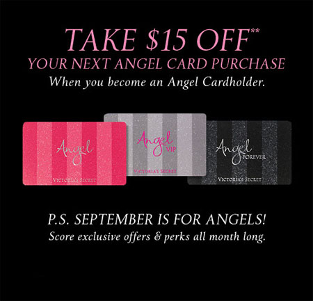 Take $15 Off at Victoria's Secret