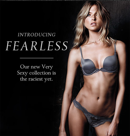 Introducing Fearless at Victoria's Secret