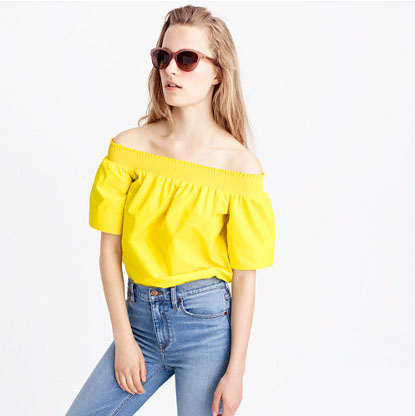 Cotton Off-The Shoulder Top