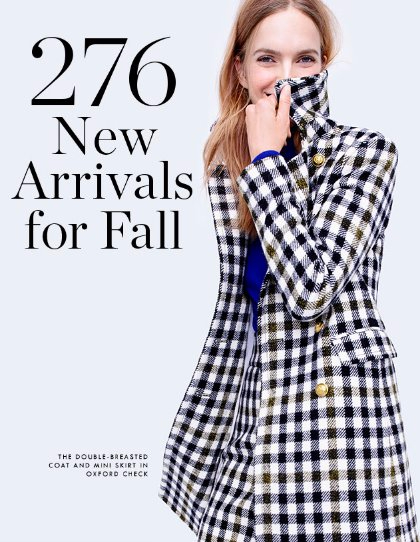 276 New Arrivals for Fall