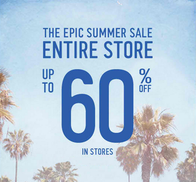 Epic Summer Sale At Hollister Co