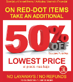 RED DOT SALE! at SHOE DEPT.