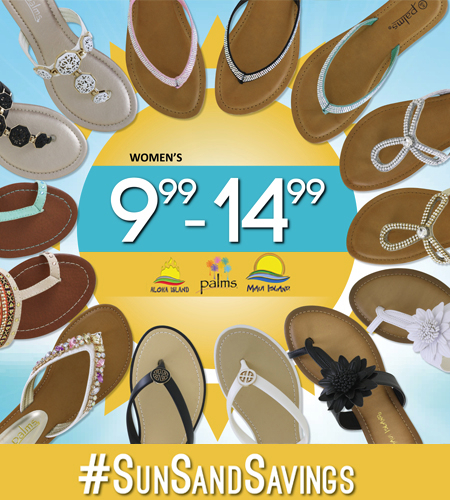 It's Time to Stock Up! at SHOE DEPT.