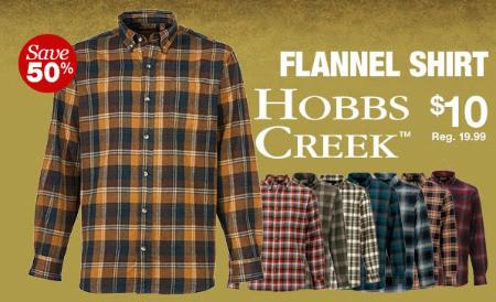 50% Off Flannel Shirt