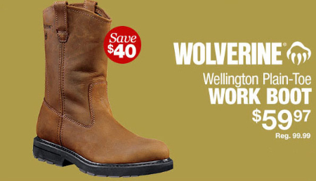$40 Off Work Boot
