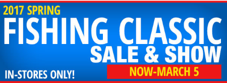 2017 Spring Fishing Classic Sale & Show