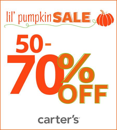 Lil' Pumpkin Sale 50-70% Off