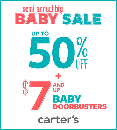 Semi-Annual Big Baby Sale Up To 50% Off*
