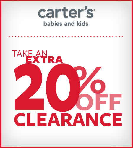 Take An Extra 20% Off Clearance